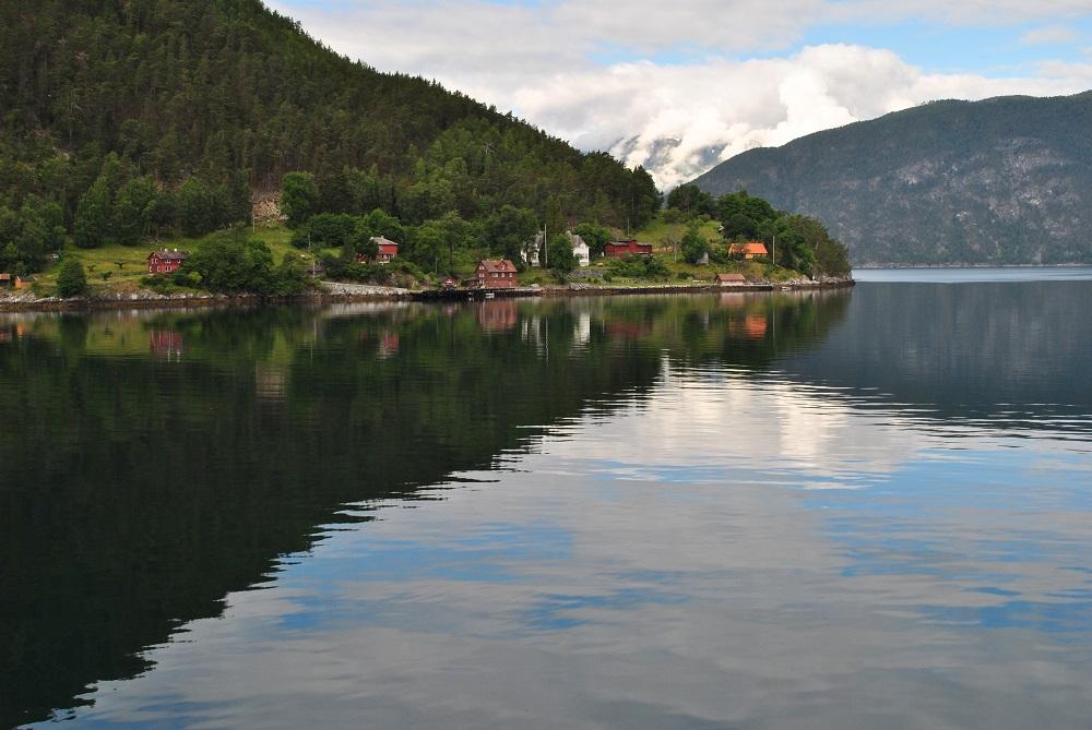 Revsnes am Sognefjord