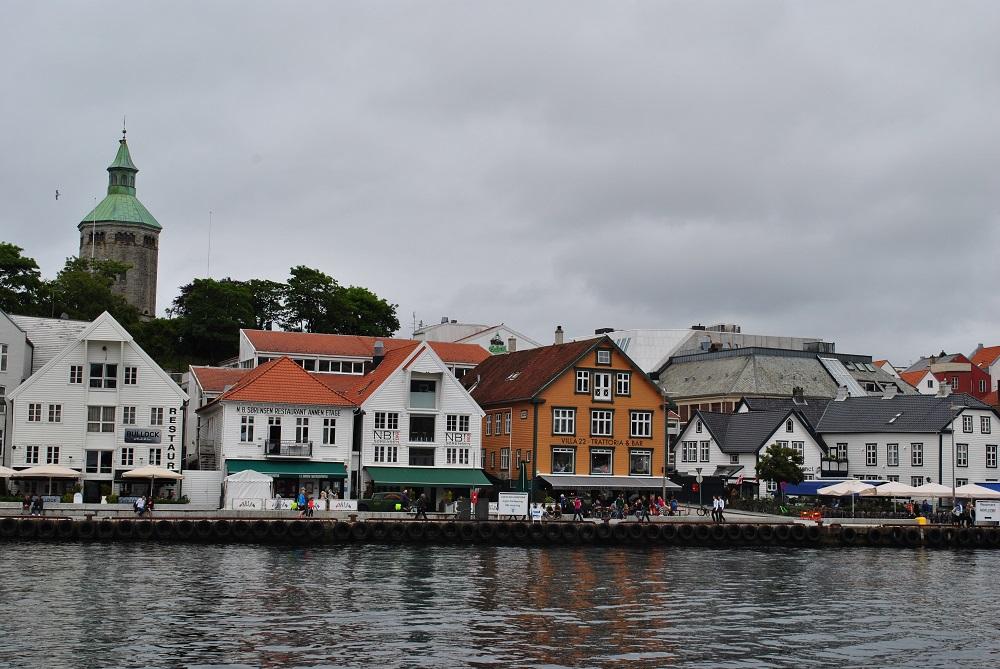 Am Hafen von Stavanger