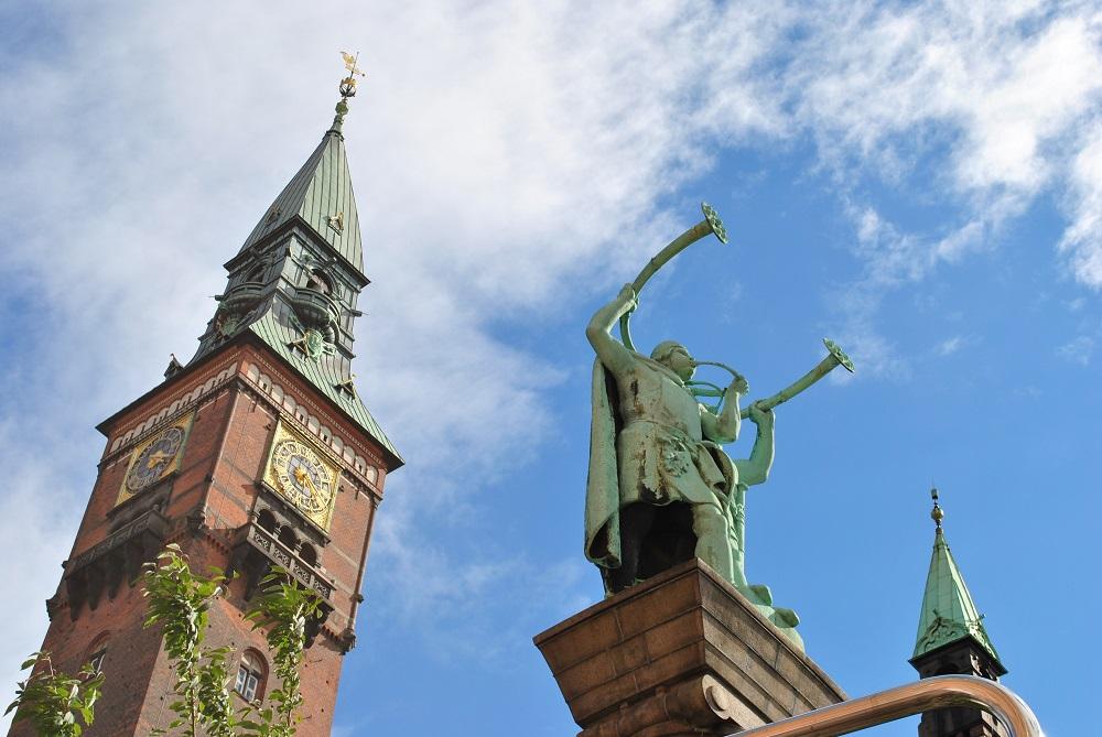 Das Rathaus von Kopenhagen