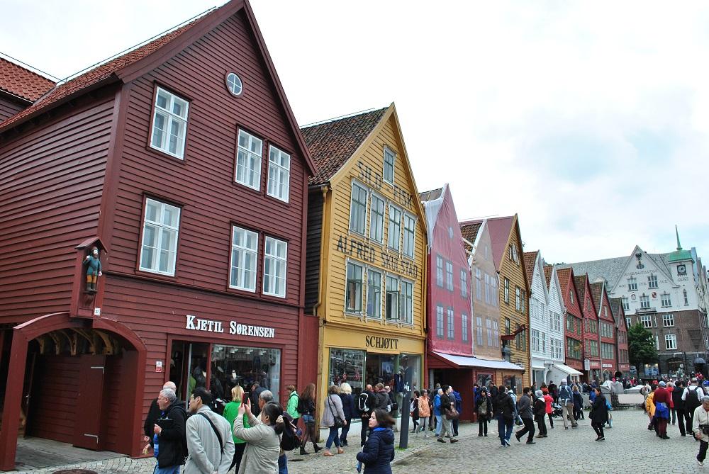 Das Hanseviertel Bryggen