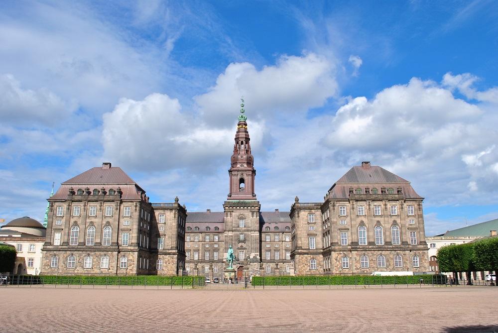 Das Schloss Christiansborg