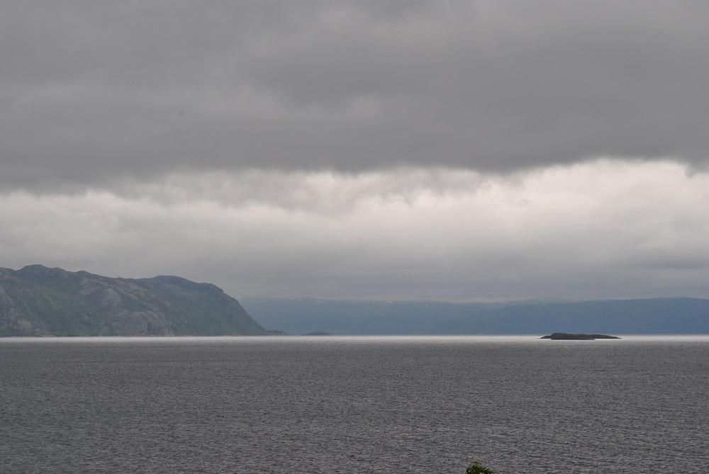 Ein letzter Blick auf den Altafjord