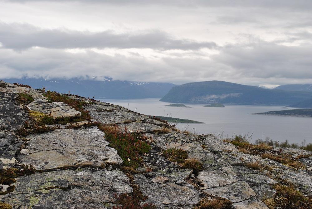 Blick vom Kvaengsfjell