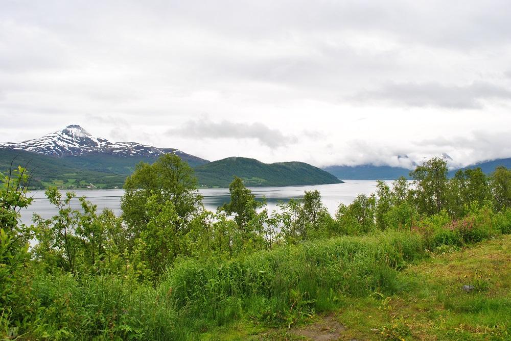 Eindrücke auf dem Weg nach Tromsö