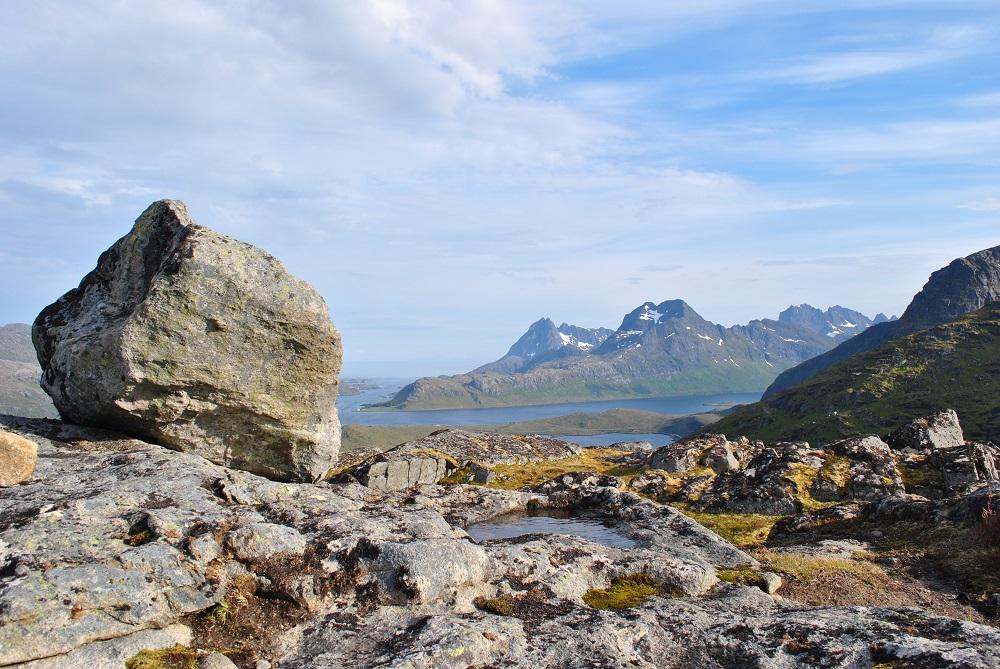 Blick auf Selfjorden