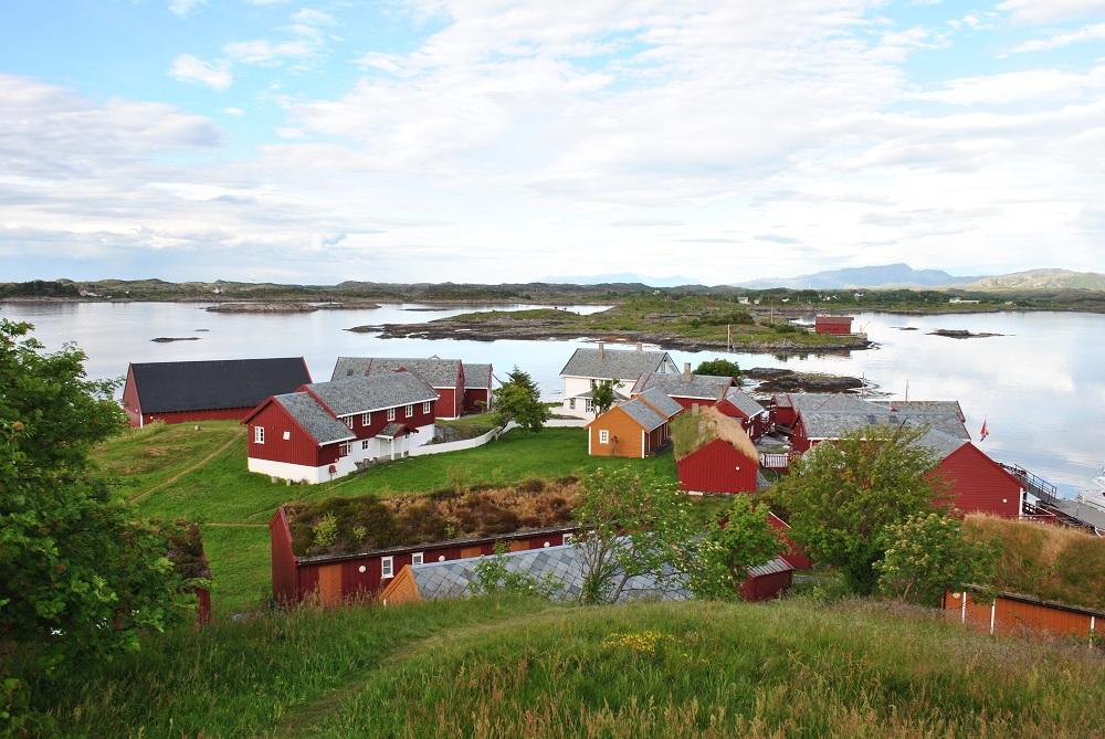 Das ehemalige Fischerdorf auf Haholmen