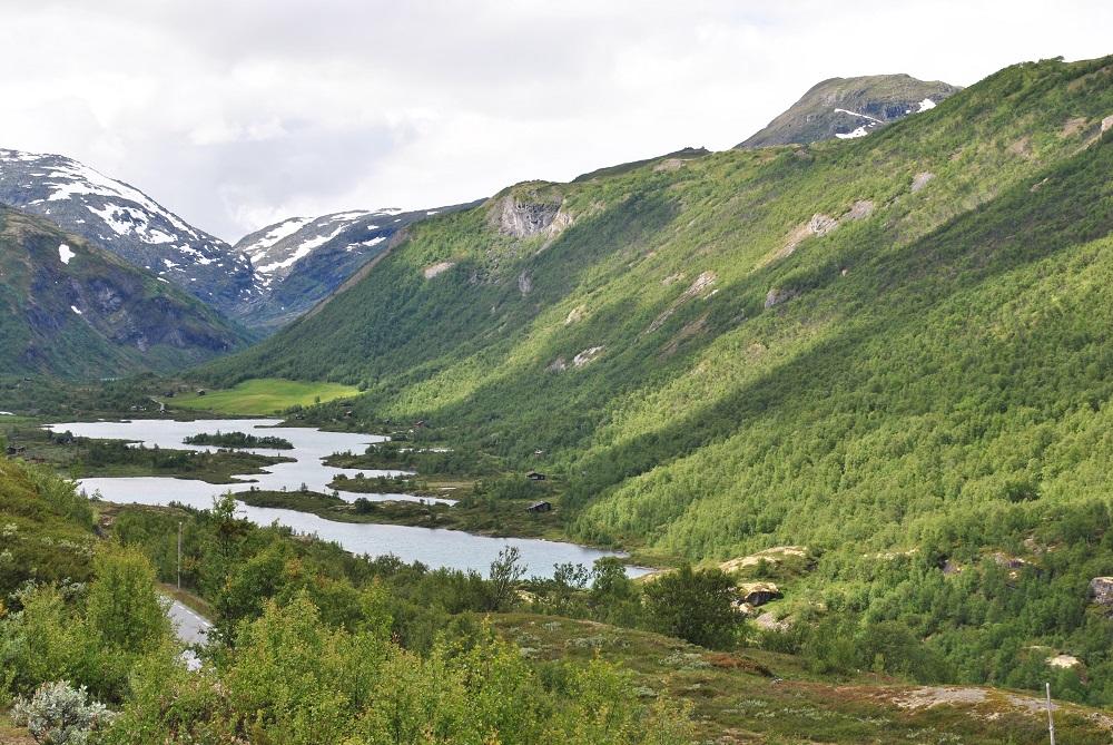 Auf dem Weg zum Sognefjord