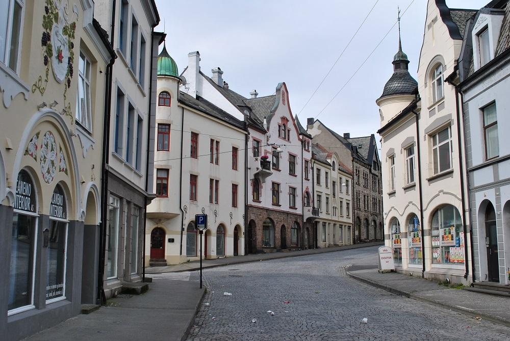 Jugendstilhäuser in Alesund